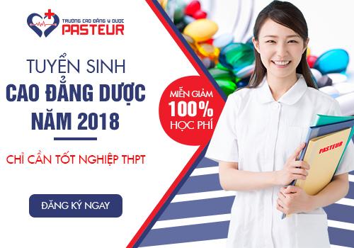 Cao đẳng Dược Hà Nội tuyển sinh miễn học phí năm 2018