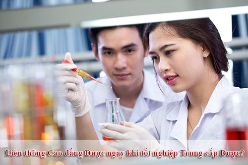 Có nên liên thông Cao Đẳng Dược ngay khi tốt nghiệp Trung cấp Dược?