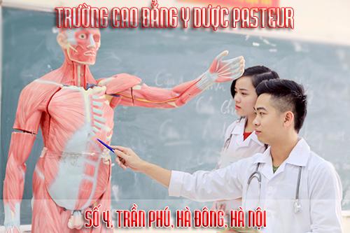 Cao đẳng Y Dược Pasteur - Số 4, Trần Phú, Hà Đông, Hà Nội