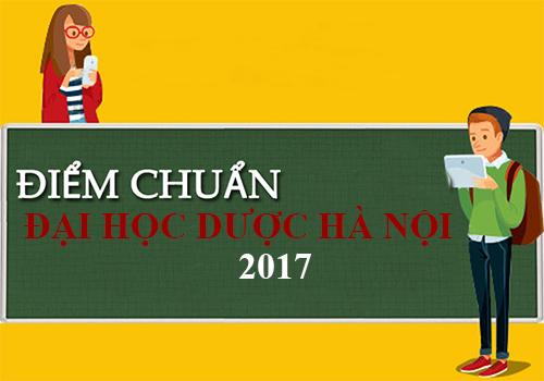 Điểm chuẩn Đại học Dược Hà Nội 2017