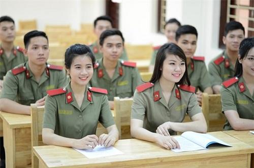 Chỉ tiêu tuyển sinh của các trường công an năm 2017