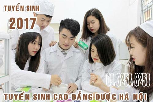 Tuyển sinh Cao đẳng Dược Hà Nội 2017