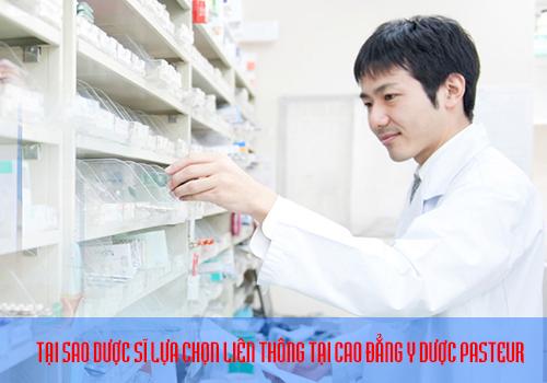 Tại sao nên liên thông Cao đẳng Dược tại trường Cao đẳng Dược Pasteur
