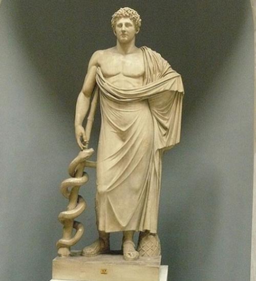 Tượng thần Esculape