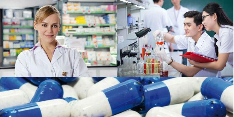 Dược sĩ có thể đảm nhiệm nhiều công việc ở nhiều lĩnh vực khác nhau