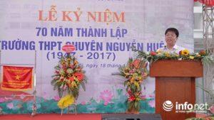 Anh Đỗ Năng Toàn – học sinh khóa 35 trường THPT chuyên Nguyễn Huệ