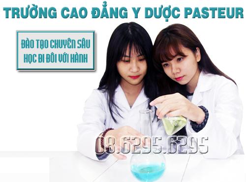 Trường Cao đẳng Y Dược Pasteur sự lựa chọn hợp lý cho sinh viên theo học Y Dược