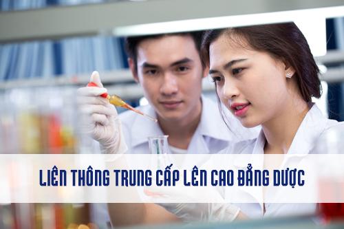 Liên thông Cao đẳng Dược là lựa chọn hợp lý đối với thí sinh tốt nghiệp trung cấp