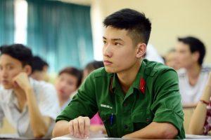 Chỉ tiêu tuyển sinh 2018 các trường khối quân đội mới nhất