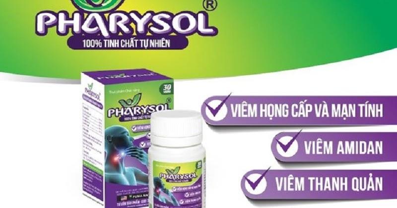 Thuốc điều trị viêm họng Pharysol