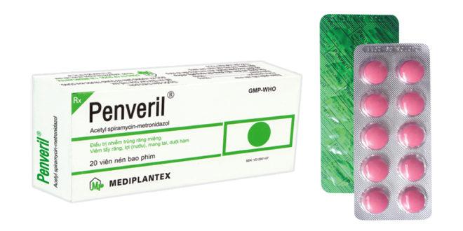 Thuốc kháng sinh Penveril