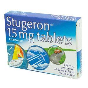 Thuốc rối loạn tiền đình Stugeron - thành phần, liều lượng sử dụng