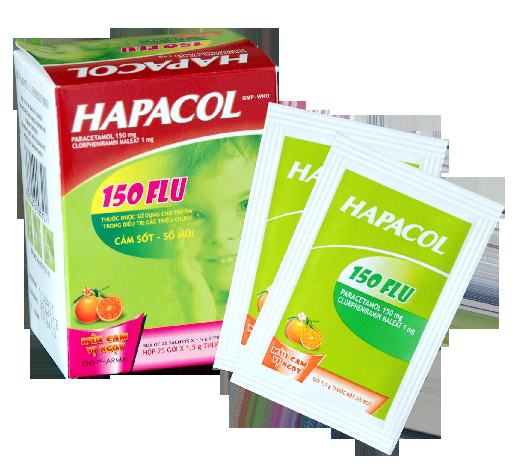 Thông tin về thuốc giảm đau hạ sốt Hapacol