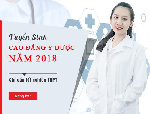 Năm 2018 Trường Cao đẳng Y dược Pasteur tuyển sinh qua học bạ THPT