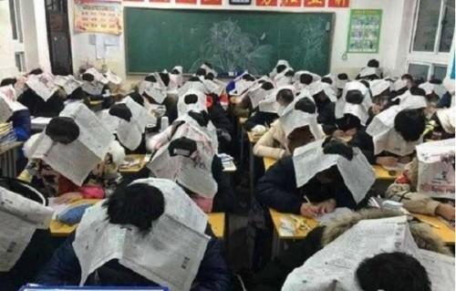 Gian lận trong thi cử hầu hết đều là tình trạng chung trong mỗi kỳ thi