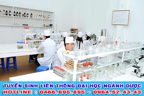 Tuyển sinh liên thông Đại học ngành Dược