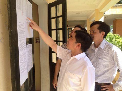 Mọi công tác chuẩn bị cho kỳ thi THPT quốc gia năm 2018 đến thời điểm này đã dần hoàn tất