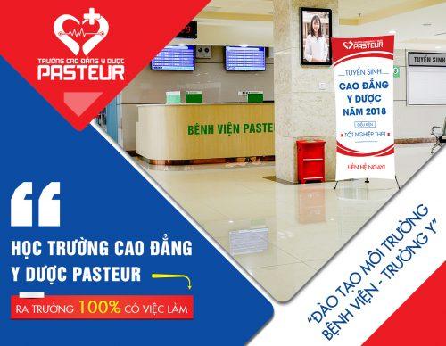 Trường Cao đẳng Y dược Pasteur cam kết 100% sinh viên ra trường có việc làm