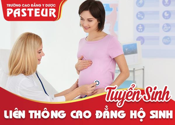 Trường Cao đẳng Y Dược Pasteur thông báo tuyển sinh Liên thông Cao đẳng Hộ sinh học tại Hà Nội