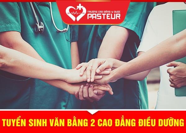 Trường Cao đẳng Y Dược Pasteur sẽ không giới hạn chỉ tiêu xét tuyển Văn bằng 2 Cao đẳng Điều dưỡng
