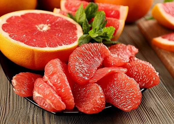 <center><em>Bưởi là một loại trái cây có sự tương tác với nhiều loại thuốc</em></center>