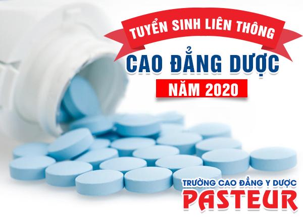 Tuyển sinh liên thông Cao đẳng Dược Pasteur năm 2020