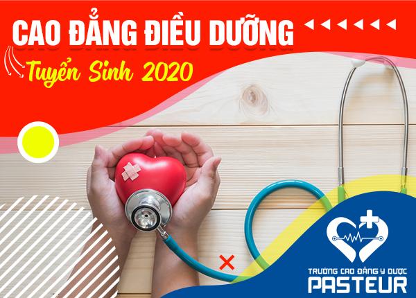 Tuyển sinh Cao đẳng Điều dưỡng Pasteur năm 2020