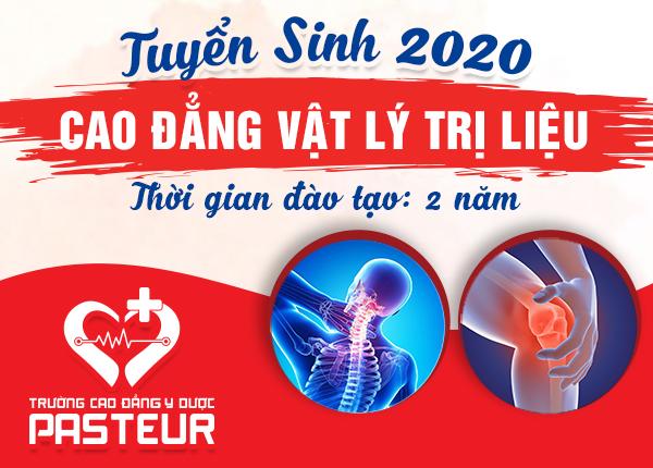 <center><em>Thông tin tuyển sinh Cao đẳng Vật lý trị liệu năm 2020</em></center>