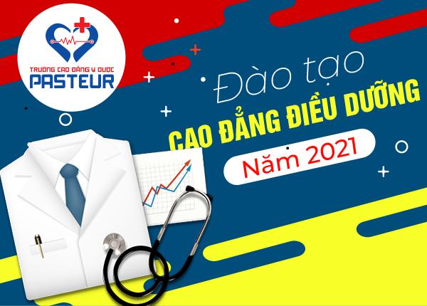 Đào tạo Cao đẳng Điều dưỡng năm 2021